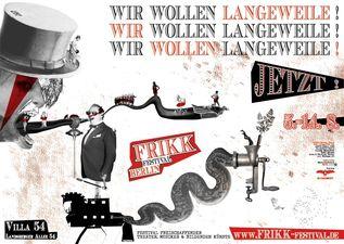 FrIKK Festival 2010 - Plakat & Flyer