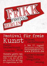 Plakat/Flyer FrIKK 2011 - Rückseite