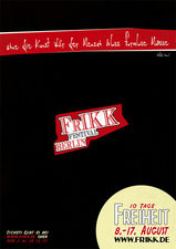 Plakat FrIKK 2011 - Variante B